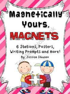 Magnets Bundle from Jessis Archive on TeachersNotebook.com (36 pages)  - Magnets - 36 page - This unit will keep your students magnetized to learning and fun. Real-life pictures were used to validate your students experiences and to help them connect with real-life objects.    Includes:   Magnet Poster  Magnetic Poles Po