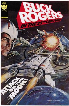 space1970: BUCK ROGERS Gold Key/Whitman Comics Cover Gallery