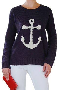 Loving this nautical sweater http://rstyle.me/n/fpzsqnyg6