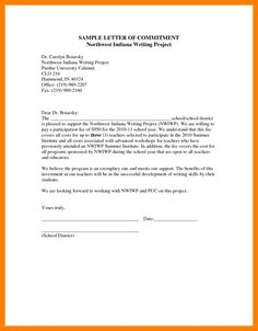 letter of commitment job request letter sample format of a letter you 8643