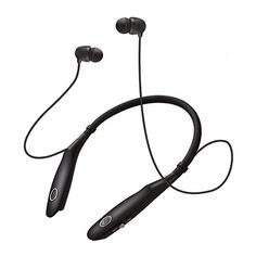 $9.20 (46% Off) on LootHoot.com - Bluetooth Headset , Sweatproof Sport Earphones 14 Hours Working Time, V4.1 Wireless Magnetic Neckband Headphones for Running Driving, Noise Cancelling Earbuds w/ Mic (black)