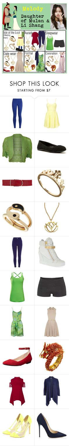"""Melody: Daughter of Mulan & Li Shang (2)"" by sydneytorrie-916 ❤ liked on Polyvore featuring NIKE, WearAll, Qupid, Maison Boinet, ASOS, Miss Selfridge, Mali Sabatasso, Disney, River Island and Giuseppe Zanotti"