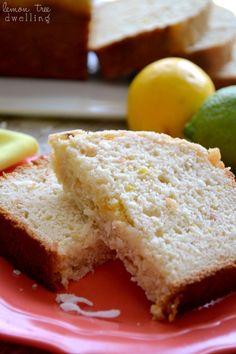 Lemon-Coconut Quick Bread (a kid-friendly breakfast!)