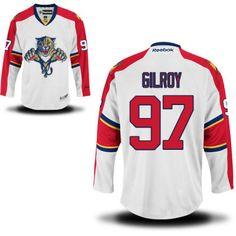 Florida Panthers 97 Matt Gilroy Road Jersey - White [Florida Panthers Hockey Jerseys 090] - $50.95 : Cheap Hockey Jerseys