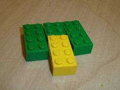 Lego Lime Turtle with Reddish Brown Spots Pattern