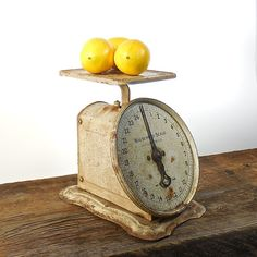 Rusty Farm House Scale Kitchen Scale by OldRedHenVintage on Etsy