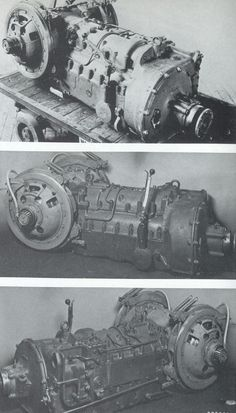 A Panther gearbox transmission assembly on display.