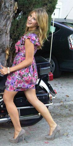 Lo Bosworth. Great dress...