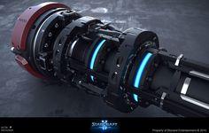 ArtStation - Starcraft II Nova Covert Ops - Missile - HiPoly, Gaëtan Montaudouin