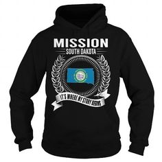 Buy MISSION - Happiness Is Being a MISSION Hoodie Sweatshirt