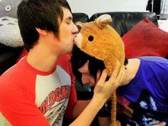 funniest guys ever!! Dan (danisnotonfire) and Phil (AmazingPhil)