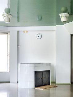 The reading room of the Paimio Sanatorium by Alvar Aalto Boutique Interior Design, Mid-century Interior, Interior Design Tips, Interior Design Inspiration, Interior Architecture, Interior Decorating, Daily Inspiration, Decorating Ideas, Design Ideas