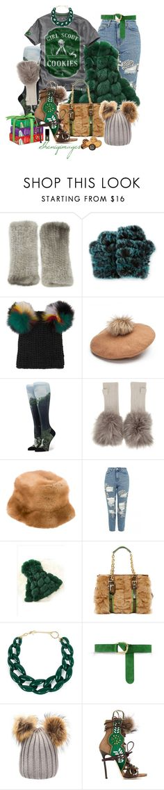 """Girl Scout Cookie Chic by Sheniq"" by sheniq ❤ liked on Polyvore featuring La Fiorentina, Jocelyn, Eugenia Kim, Hockley, Prada, Topshop, Longchamp, DIANA BROUSSARD, Barbara Bui and Dsquared2"