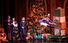 Amazing Nutcracker play! Hit up Grosh Backdrops and Drapery for your production's backdrop!