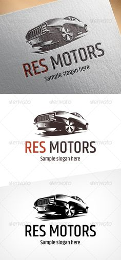 Car Badges, Car Logos, Car Vector, Vector File, Motor Logo, Garage Logo, Automotive Logo, Typography Logo, Creative Logo