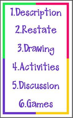 Marzano's Six Steps for Vocabulary Instruction