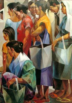 Free cross stitch patterns and lots of other Modern Artwork, Contemporary Art, Egyptian Drawings, Mexican Paintings, Filipino Art, Philippine Art, Art Painting Gallery, Cubism Art, Figurative Art