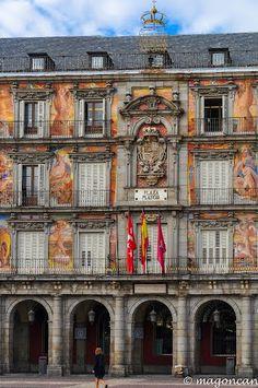 Madrid - Plaza Mayor,  Spain #spain