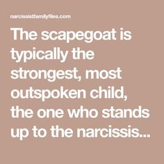 The narcissistic family is typically dominated by at least one narcissistic parent whom everyone revolves around trying to avoid attack. Narcissistic Behavior, Narcissistic Sociopath, Narcissistic Personality Disorder, Daughters Of Narcissistic Mothers, Narcissist Father, Family Scapegoat, Emotional Abuse, Emotional Vampire, Dear Self