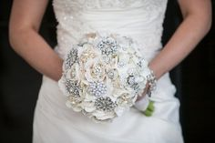diy brooch wedding bouquet kits | Brooch bouquet - DIY // Melissa Dale Photography | Wedding