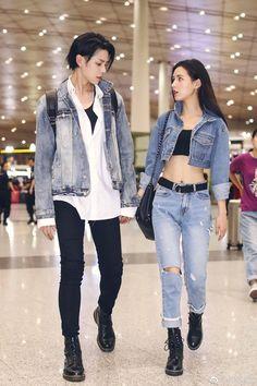 Photoshoot round-up: couples Fashion Couple, Girl Fashion, Fashion Outfits, Style Fashion, Korean Couple Photoshoot, Japanese Couple, Couple Goals Cuddling, Matching Couple Outfits, Ulzzang Couple
