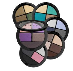 4 velvety shadows and a liner in one. #Sephora Collection Colorful Palette. #eyecandy