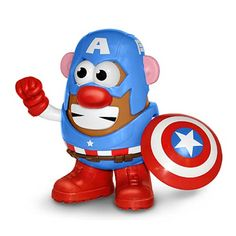 Avengers Captain America Mr. Potato Head