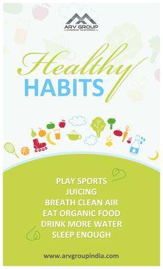 #Healthy #Habits