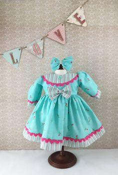 Fits American Girl and Other 18 Dolls Long Sleeve by dressurdolly2