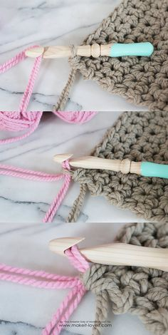 How to Crochet a Chunky Blanket (...an affordable beginner project!) | Make It and Love It