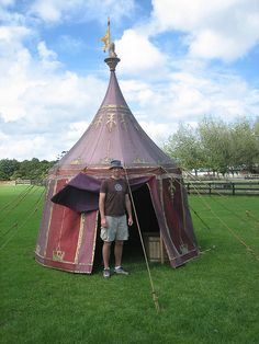 Me in another tent used in the 1st Narnia movie | Flickr - Photo Sharing! & Me in tent used in the 1st Narnia movie | Narnia movies Narnia ...
