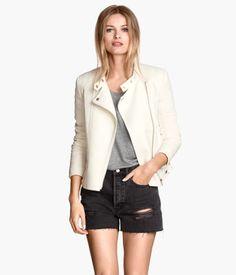perfect white perfecto, H&M
