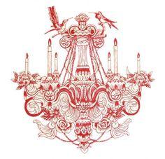 bird-candle-carving-chandelier-drawing-Favim.com-438637.jpg (489×472)
