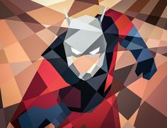 MARVEL GOES GEOMETRIC 2 by Eric Dufresne, via Behance