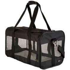 AmazonBasics Soft-Sided Pet Travel Carrier crazycatladysupplies.com