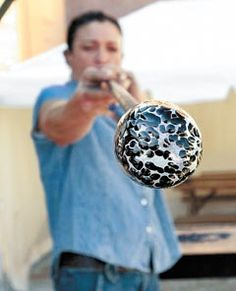 glass blowing I would love to do this!