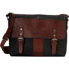 Frye Trevor Messenger (Black Washed Buffalo) Messenger Bags ($270) ❤ liked on Polyvore featuring men's fashion, men's bags, men's messenger bags, black, mens laptop messenger bag and mens messenger bag