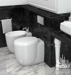Wow, beautiful decorative toilets and bidets! Some people choose to hide the toilet and bidet – and there     certainly are some creative concealed toilet styles out there, prefer them to stand out and shine! This     collection of handmade decorative toilets and bidets is a certain instant focal point.