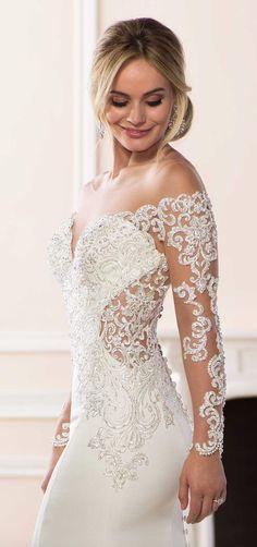 Courtesy of Stella York Wedding Dresses from Essense of Australia #weddingdress