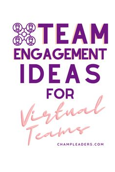 Team Engagement for virtual teams is crucial in the business and it's important that leaders evolve with their approach in engaging blended models of service delivery. Check out these ideas on how work from home employees can stay engaged and how managers or supervisors can get ahead in keeping teams motivated. #leadership #careertips #careeradvice #management #leadershipdevelopment #employeeengagement #manager #supervisor #business #teamactivities #teamengagement #callcenter