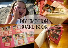 Love, Play, Learn: DIY Emotions Board Book for babies and toddlers