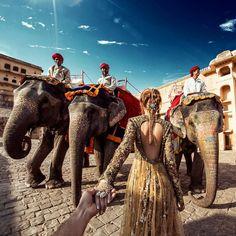Amer Fort, Jaipur   www.indipin.com #indipin