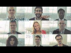 Deloitte simulcast van TEDxAmsterdam 2011 in de Maastoren