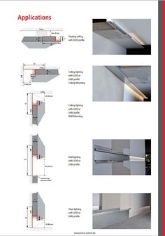 HERA LED STIP - DRY WALL PROFILES