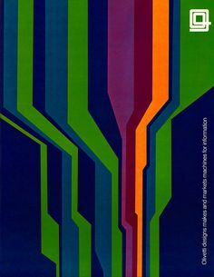 ad for Olivetti by Walter Ballmer (c.1970)