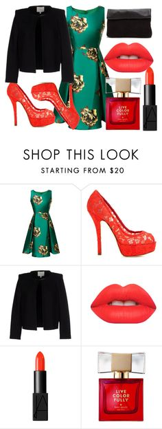 """Worker"" by nrlwulan on Polyvore featuring Dolce&Gabbana, IRO, Lime Crime, NARS Cosmetics and Kate Spade"