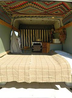 rustic campers campervan