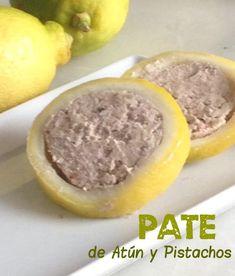 Si probáis este paté seguro que os gustará y si queréis preparar una mesa bien decorada , estos limones rellenos de paté quedan precioso...