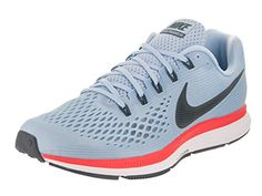180858fa7f6 NIKE Mens Air Zoom Pegasus 34 Ice BlueBlue Fox 105 M US    Details can