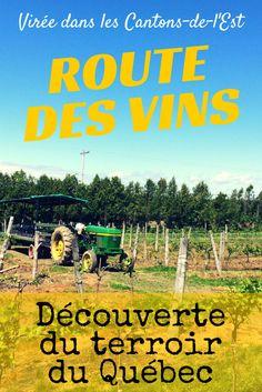 Route des vins et terroir du Québec sans voiture, pas de souci!